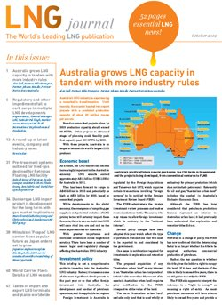 LNG journal 2012 October