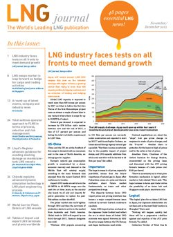 LNG journal 2012 November December